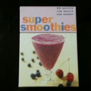Super Smoothies Recipe Cards - 50 Recipes